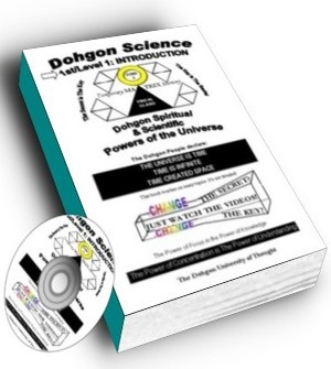 3 Videos and Dohgon Science book white
